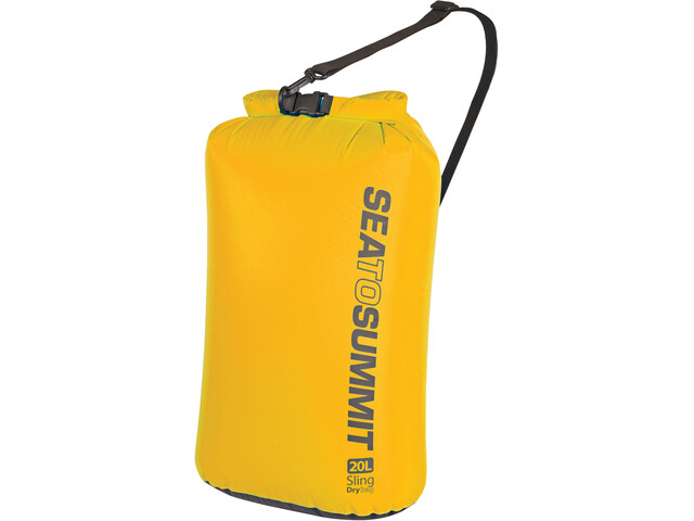 Sea to Summit Lightweight Sling Kuivapussi 20l, yellow